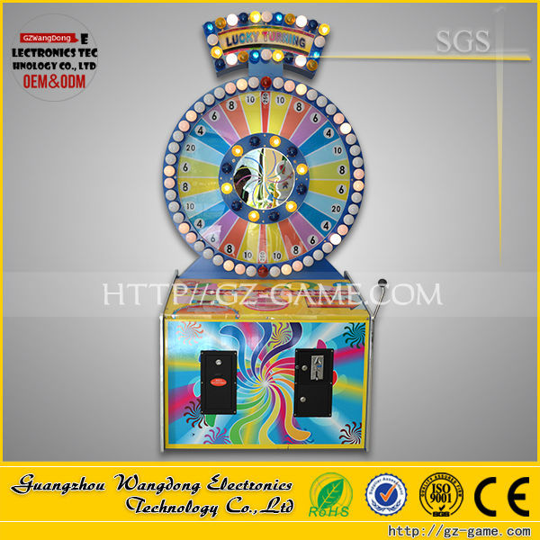 High quality ! Kids carnival buy wheel of fortune game machine for sale