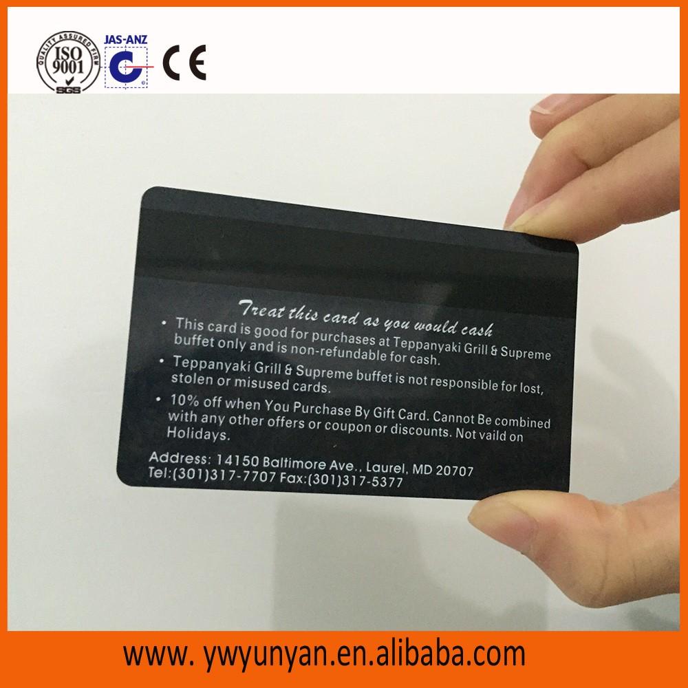 2017 Free Design..!!printing Plastic Gift Card,plastic Membership Card,  Membership Cards Design