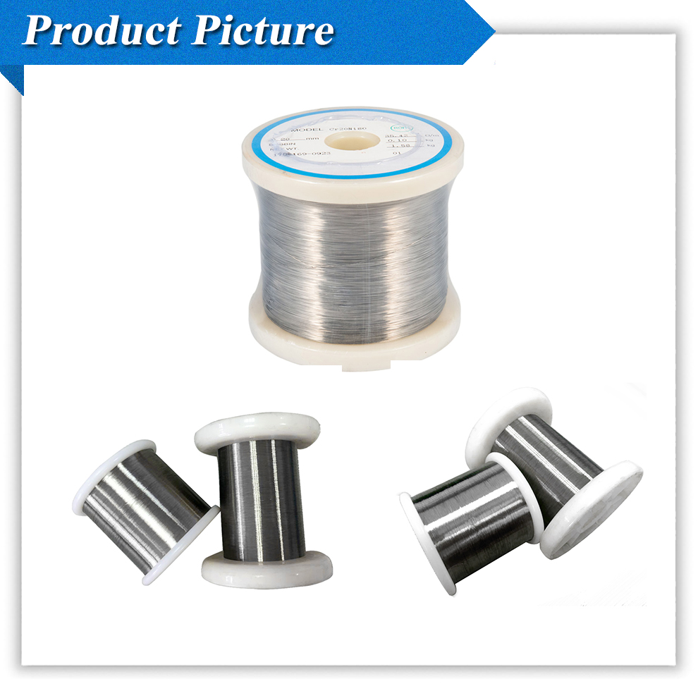 Songtai Good price Ni80Cr20 Material 0.25mm Nichrome Wire