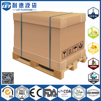 China 1000L Paper IBC Tan for honey