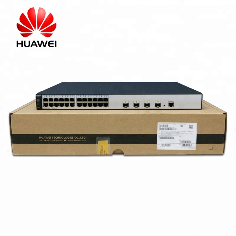 2020 New Arrival cheaper price professional huawei PoE switch <strong>24</strong> <strong>Port</strong> Gigabit S5720S-28P-PWR-LI-AC for surveillance solutions