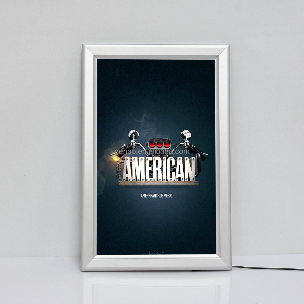 lighted movie poster frame lighted movie poster frame suppliers and manufacturers at alibabacom - Movie Poster Frame