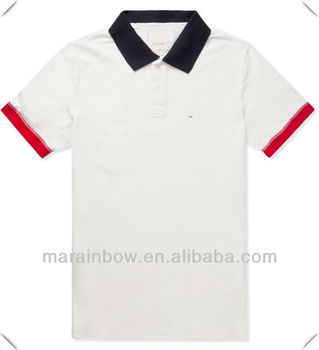Classic American style fashion polo shirts for men with high quality Made in China