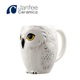 Best Selling 3D harry porter owl Hedwig coffee mug ceramic