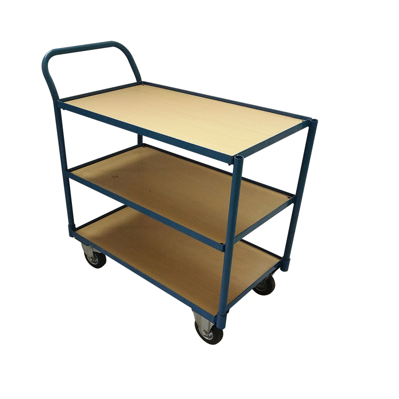 Wholesale Good Price Wooden Restaurant Hotel Food Beverage Service Trolley Carts