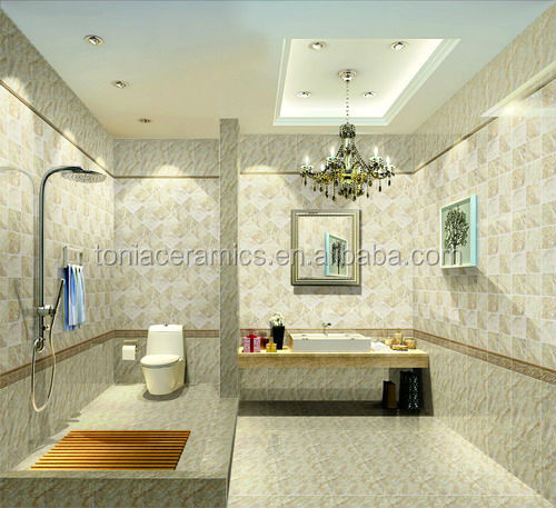 Foshan3D Inkjet 300*600mm Bathroom Wall Digital Tiles Digital Design  Ceramic Wall Tile Part 61
