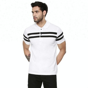 Classic collar polo t-shirt designs wholesale gym ports white polo shirt