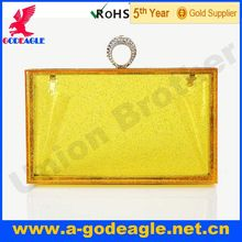 New arrival fashion U0001-009 acrylic clutches and purses