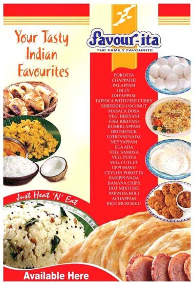 Ready To Eat Indian Frozen Foods