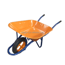 Hot sale global farm tools and equipment solid steel tray heavy duty wheelbarrow wb6400