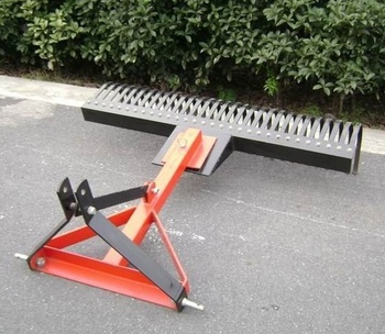 3Point Tractor Landscape Rakes with CE, Rastrillo, Root Rake