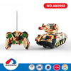 kids favorite remote control plastic material military tank toys with high quality