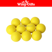 Practice Golf Balls, Foam Sponge Soft Elastic Golf Balls, Indoor Outdoor Golf Training Aid Balls