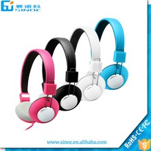 Shenzhen Sinoc cheapest earphone for cumpter mobile phone accessories wired gaming headphone headset