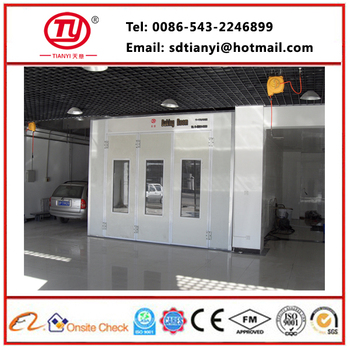 Cheap Price Qualified Spray Booth Automotive Paint