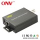 Ethernet over Coax IP to Coaxial video converter at CCTV security Ethernet over coax converter analog to ip with nvr, dvr