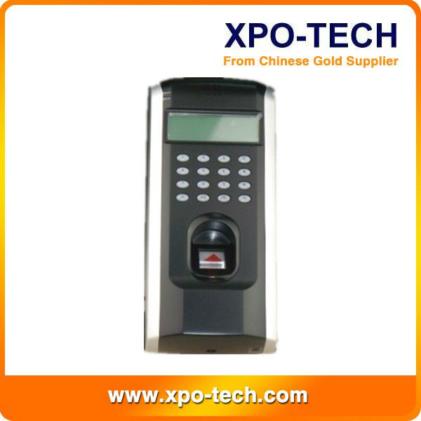 2013 hot sale ZK F7 fingerprint time attendance and access control