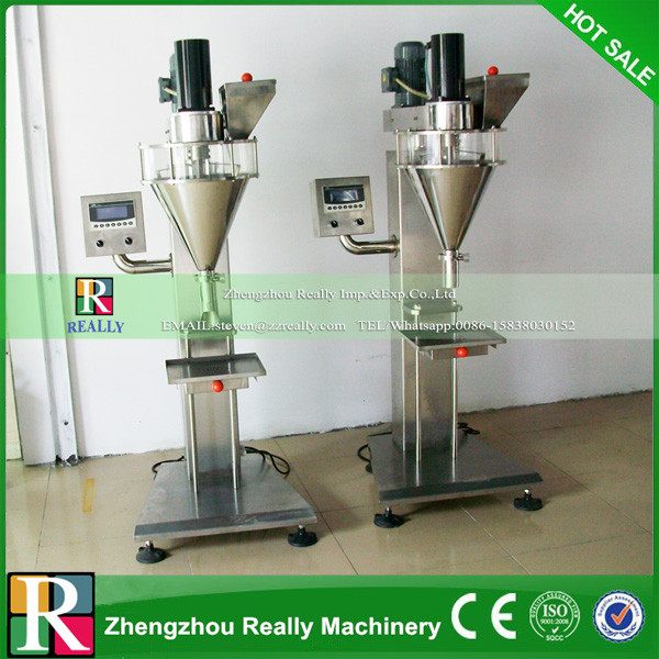 Semi Automatic Coffee Powder Packing Machine Quantitative Filling