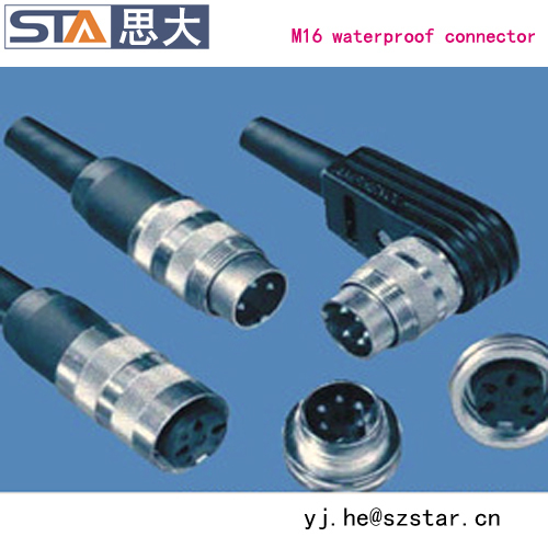 Binder 581 Series Male Female Install Electrical Wire Cable ...