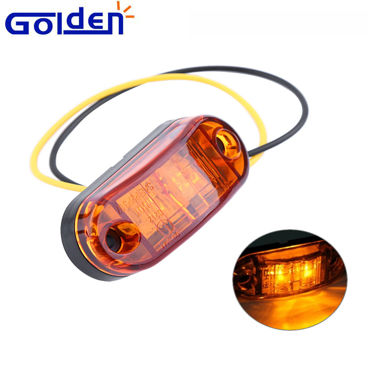 Auto caravan car truck led trailer side marker light