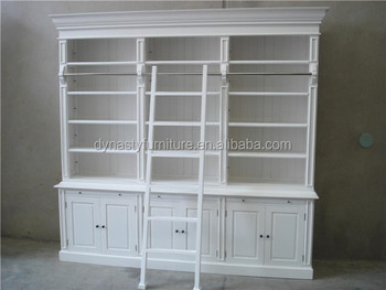 Used Library Antique White Bookcases Buy Bookcases