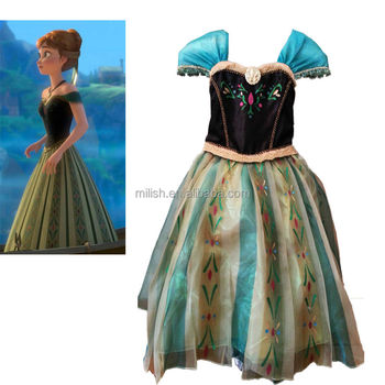 Adult Style Frozen Anna Princess Dress Costume Mac 0914 Buy Adult Anna Dressfrozen Anna Dressanna Costume Product On Alibabacom
