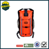 China supplier 20L orange ocean dry bag floating sail diving utility waterproof laptop backpack