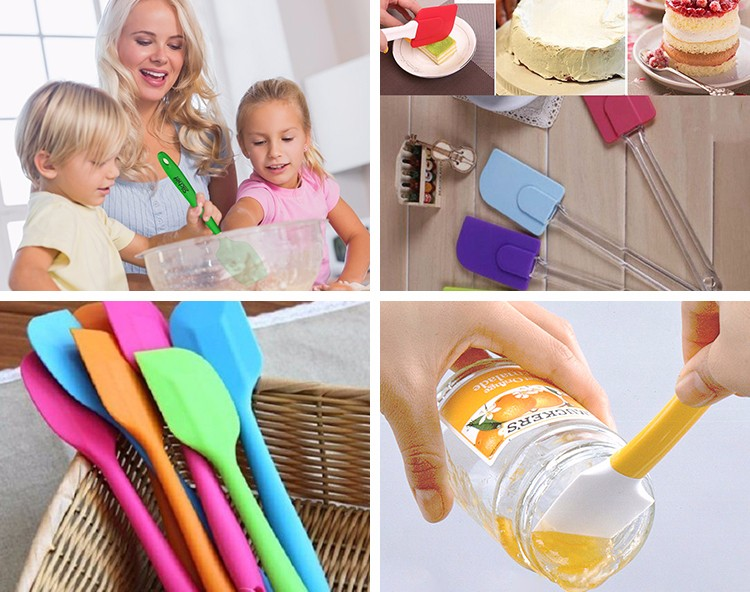 High Quality Silicone Spatula / Scraper / Slicker