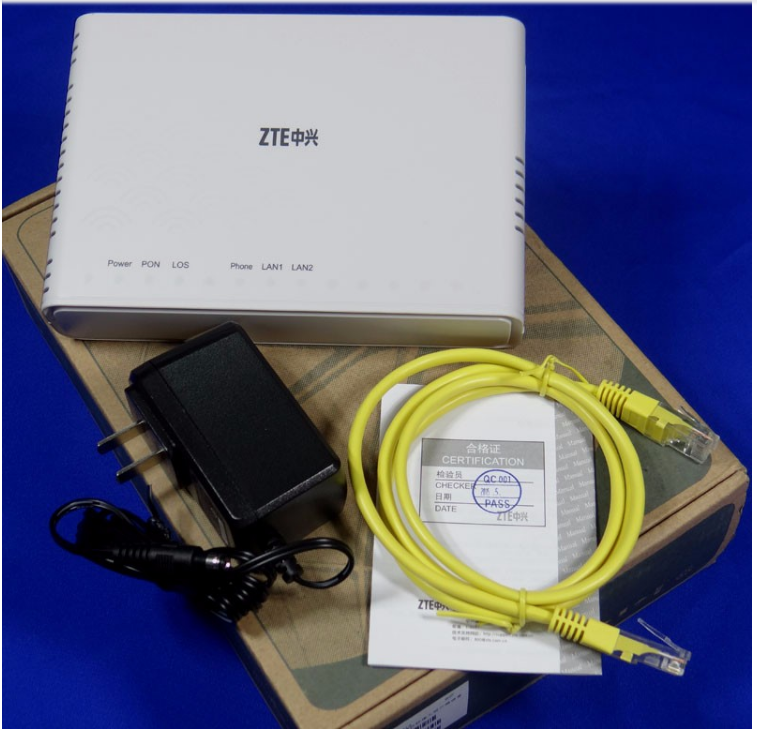 Original Zxa10 F612 V5 0 Zte Fiber Optic Modem With 2fe+1pots For  Enterprise Internal Antenna - Buy Zte Fiber Optic Modem,Zxa10 F600 Zte  Fiber Optic