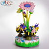/product-detail/playground-equipment-kiddie-ride-merry-go-round-small-carousel-3-players-bee-carousel-horse-for-sale-60740631227.html