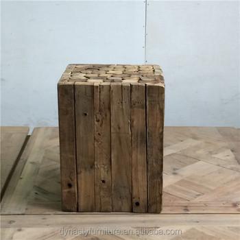 Rustikalen Innenräume Möbel Billig Preis Stamm Holz Couchtisch Buy