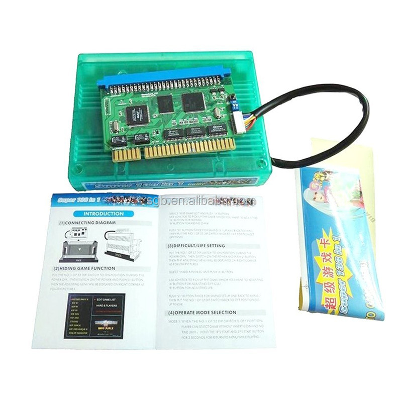 Wholesale multigames 138 in 1 casino game pcb board