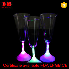 220ml CE adult bar led champagne glass