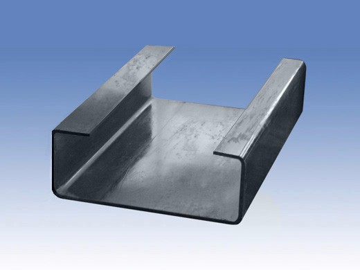 Structural strut channel c rolled formed slotted steel
