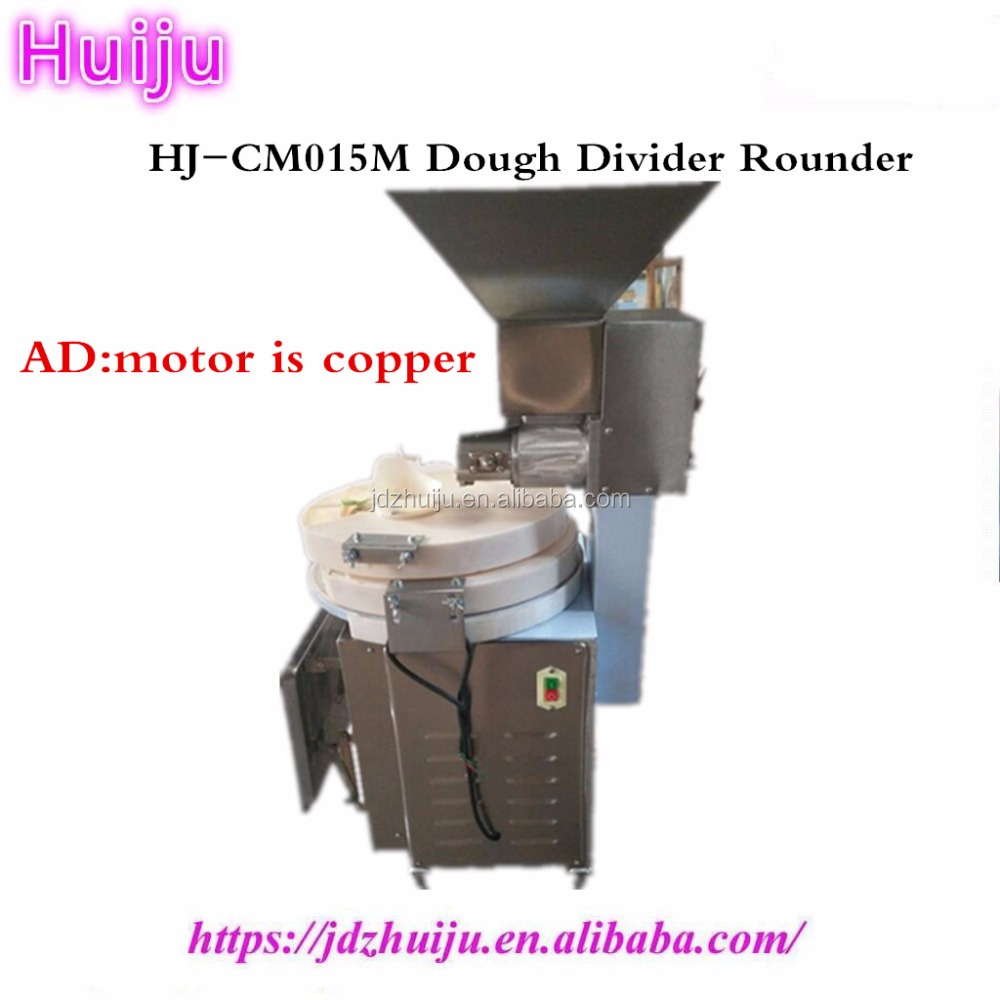 automatic products rounder dough moulder with dough cutter
