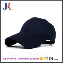 Factory black 100% cotton plastic buckle american baseball caps for men