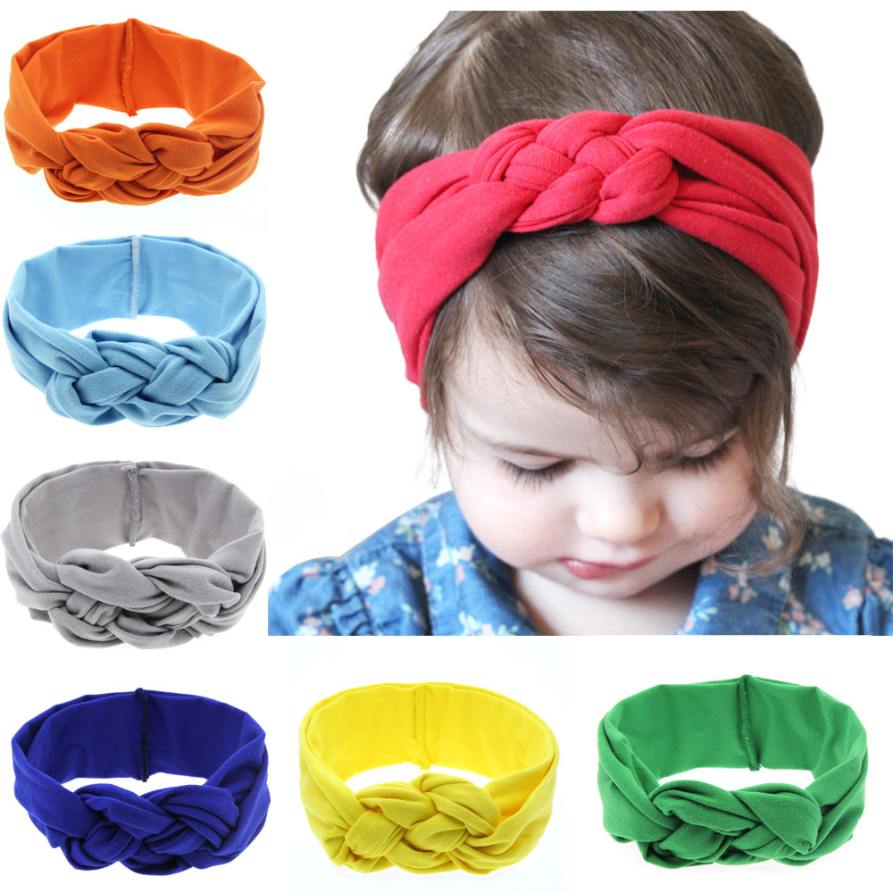 High Quality Products <strong>Hair</strong> <strong>Accessories</strong> For Children Cotton Baby Hairbands