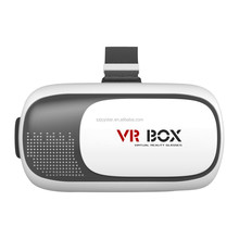 VR 2.0 II 3D Box Casque 3 D Virtual Reality Glasses Goggles Headset Helmet For Smartphone Smart Phone Lunette Google Cardboard