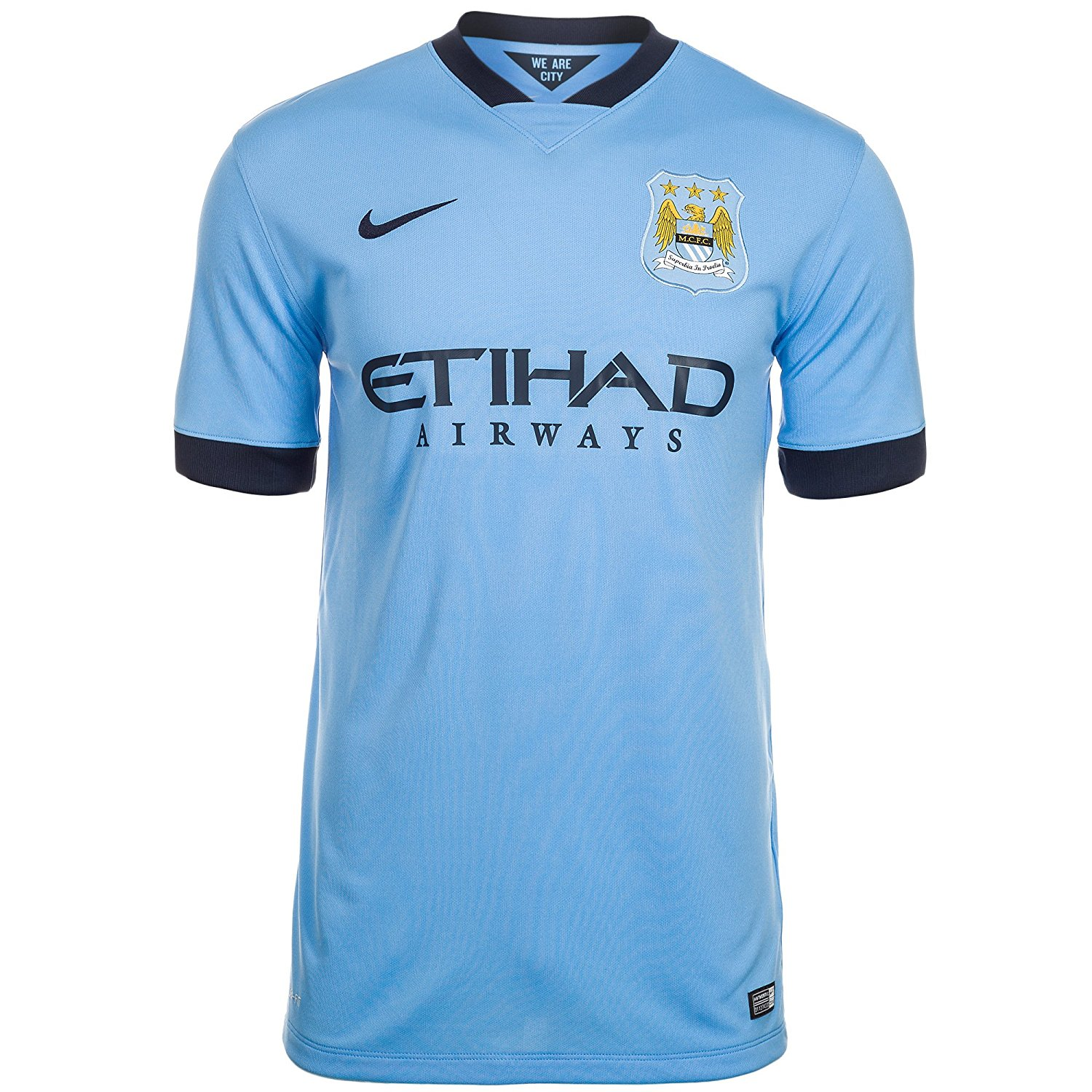 18a0e0e26 Get Quotations · Nike Manchester City Home Jersey