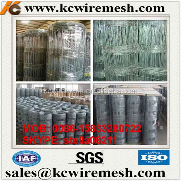 Factory!!! Here!!!! KangChen Galvanized Fixed knot Horse fence wire Deer Fence farm and ranch fence factory direct for sale