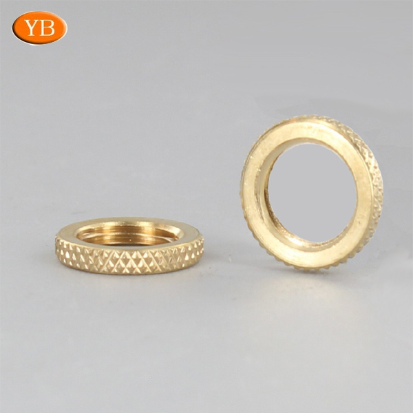 No-standard Brass Knurled Nut With Competitive Price