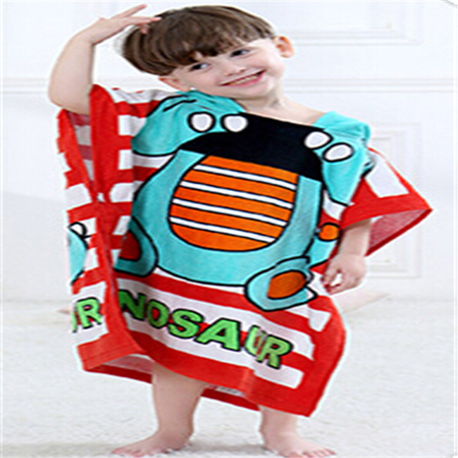 Cute and Comfortable Children Hooded Towel and Bathrobe