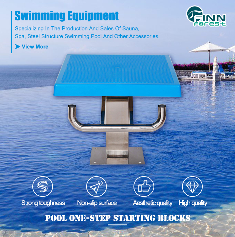 Cheap Pool Platform Used Professional Competition Swimming Pool Starting Block