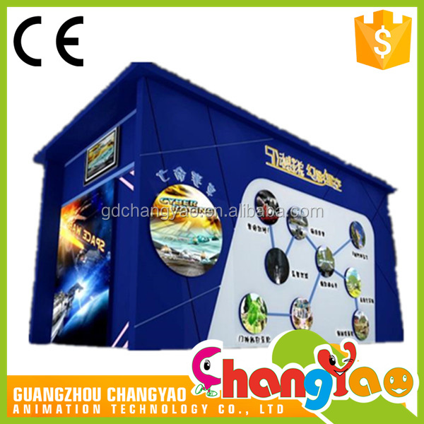 3D 4D 5D Dynamic Cinema Container Cabin For Saling