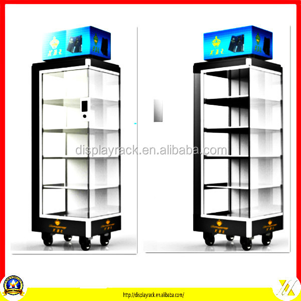 Fashion acrylic cell phone accessories display/cellular phone display showcases cabine/mobile phone retail store showcases
