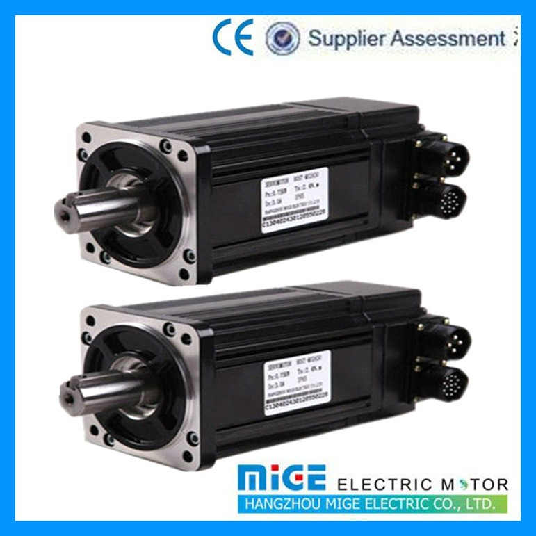 servo ac electric motr,Mige servo motor from 60 series to 220 series