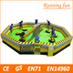 2017 best sell Inflatable battle game wipeout, Inflatable challenge sports game