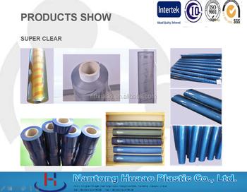 Crystal Clear Laminating Film Blue Plastic Sheet In Rolls