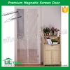 Velcro sewn magic snap screen mesh magnetic door