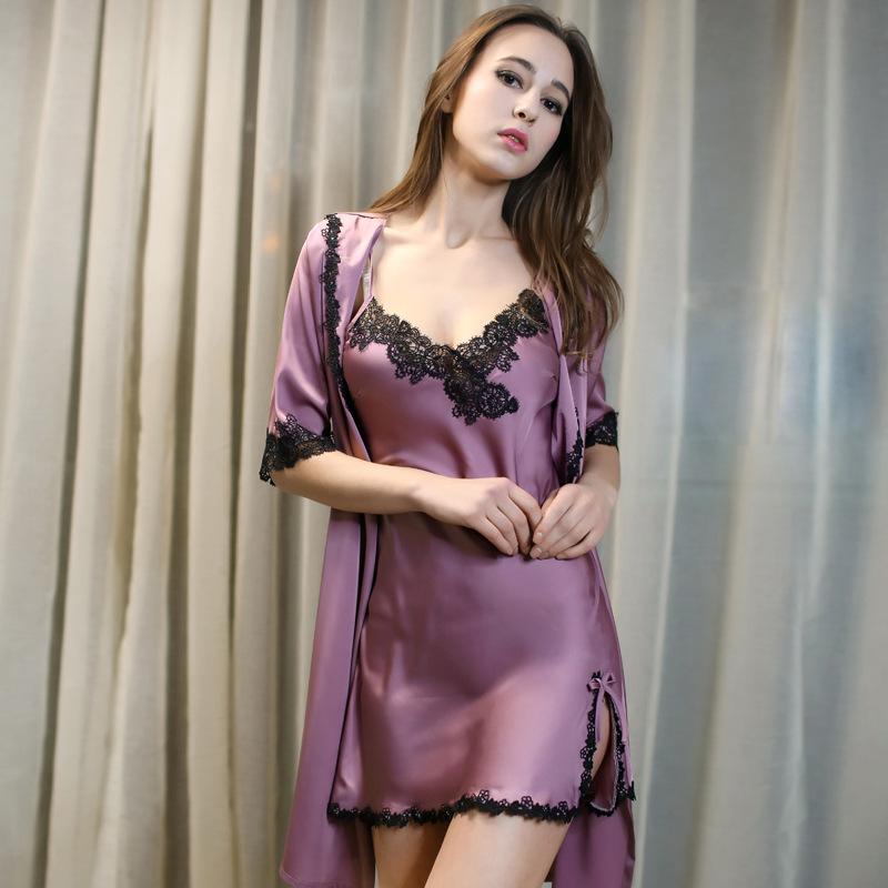Sexy Women s  Nightgown With Robe - Buy Women Lingerie d0e6b38e22